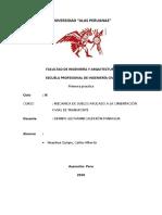 PRIMERA PRACTICA-SUELOS APLICADA -  CARLOS ALBERTO HUAYHUA QUISPE