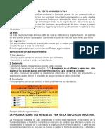 EL TEXTO ARGUMENTATIVO (1)