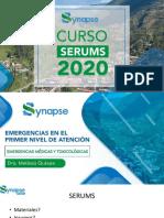 4. SERUMS 2020 - EMERGENCIAS MÉDICAS Y TOXICOLÓGICAS