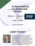 InformixBestPractices-GettingStarted