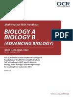 Biology Mathematical Skills Handbook