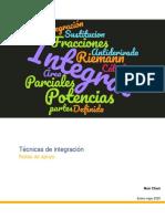 Técnica de Integración  Cálculo Integral.pdf