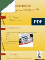 Automatizacion en Hematología –Inmunología