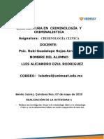 DZUL RODRIGUEZ-CRIMINOLOGIA CLINICA-ACTIVIDAD1