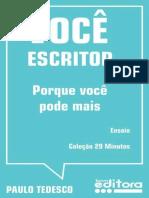 Voce Escritor - Paulo Tedesco.epub