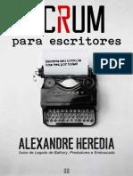 Scrum para Escritores @ Alexandre Heredia