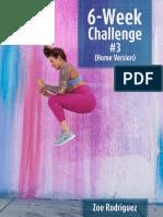 Zbody - 6 Week Challenge 3 (Home)