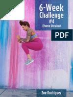 Zbody - 6 Week Challenge 4 (Home)