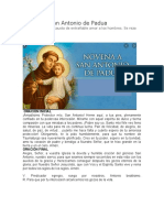 Novena a San Antonio de Padua.docx