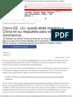 Coronavirus en Estados Unidos Cómo el gobierno de Donald Trump quedó atrás sobr