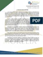 Comunicado 20-20 (23-MAYO-2020)