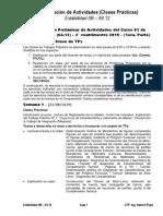 Coordinación de Actividades-2°C2019 - (Primera Parte)