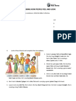 Describing people - worksheet