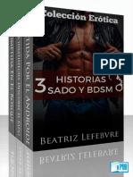 beatriz lefebvre - 3 historias sado y bdsm colecc