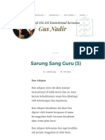 Sarung Sang Guru (3) _ Gus Nadirsyah Hosen.pdf