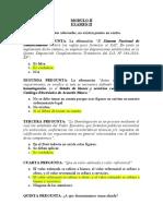 Modulo II Examen