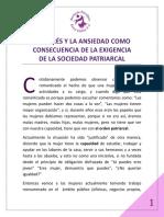EL ESTRÉS Y LA ANSIEDAD COMO CONSECUENCIA DE LA EXIGENCIA