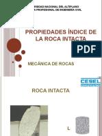 2018 - MECÁNICA DE ROCAS - PROP ÍNDICE