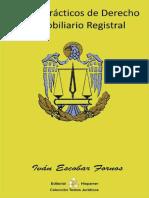 libro de casos practicos de Derecho Registral-Ivan Escobar Fornos