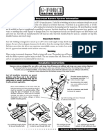 G-Force 5 Way Harness Instructions