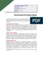Gerenciamento de Projetos No Brasil