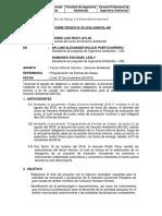 INFORME TECNICO 3 PESCA