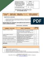 ACTA JUNTA DIRECTIVA No, 004  ABRIL 15 DE 2020 (1)