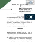 Abuso sexual necesidad de declaración de la víctima en juicio oral ante retractación por escrito RN 982-2018 Callao