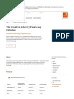 The Creative Industry Financing Initiative_GTBank