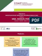 Desarrollo de IMI - USMP - Segunda parte