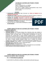 DISEÑO DE RED DE ALCANTARILLADO