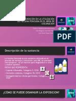 diapositivas toxicologia