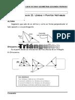 doc lineas notables de triangulo buenisimo