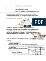 Licencias en construcción civil
