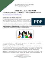 2020 I COMPORT INDIVIUAL GUIA