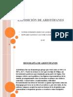 Exposición de Aristófanes
