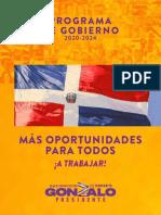 Plan de Gobierno 2020 2024 Version2.0