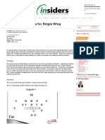 Three Play Package for Single Wing Systems - Eien
