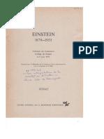Mon interpretation de la correlation d'Einstein
