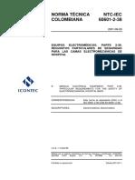 NTC-IEC60601-2-38 Norma técnica colombiana