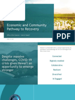 Economic and Community Pathway to Recovery