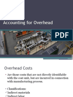 4_Accounting for Overhead