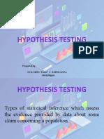 HypothesisTestingReport