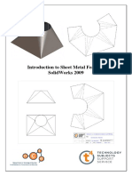 Introduction to Sheet Metal Features