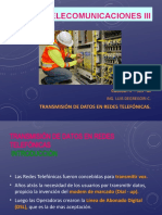 Curso Telecom III - TxDx por Redes Telef 2019