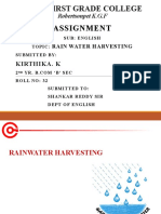 Rainwater harvesting ppt