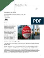 globalresearch.ca-The 2006 Origins of the Lockdown Idea