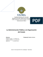 Trabajo administration public