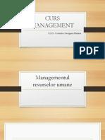 management curs 7