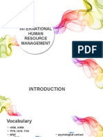 An Introduction to International HRM
